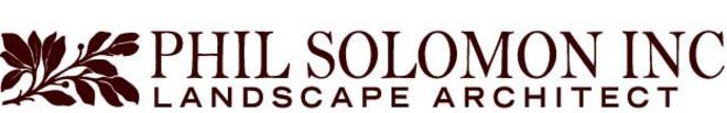 Phil Solomon Landscape Architect