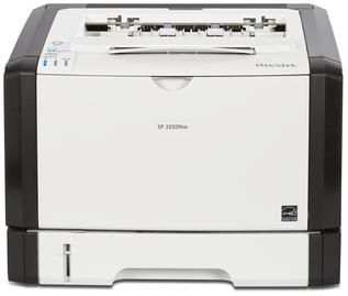 Ricoh/Savin SP 325DNw black and white printer, affordable, fast, business-class, consistent, 30 page per minute print speeds, 1200 by 1200 dpi print resolution, low price, budget friendly, small office, small workgroup device sold by Cedar Rapids Photo Copy, Inc. (CRPC, Inc.) in Cedar Rapids, Iowa. Eastern Iowa/Corridor area's leader in office printing technology and general office technology since 1965.