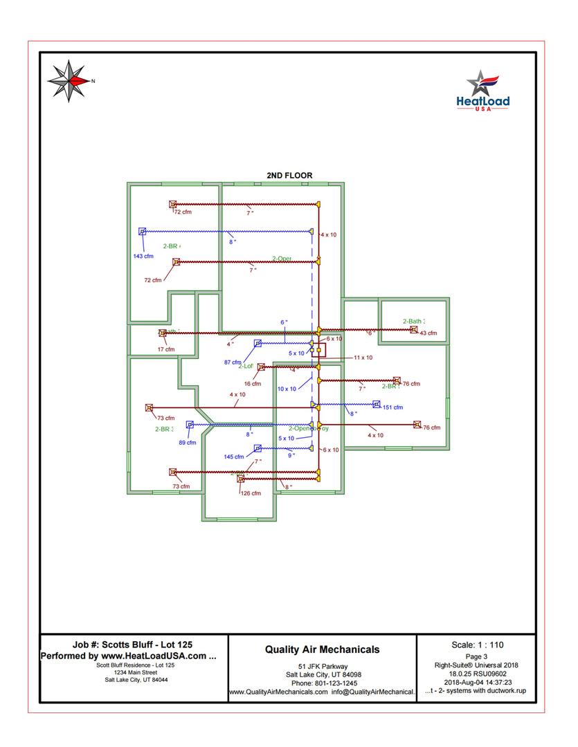 Hvac Design Manual D Services Drawings Pictures A Quality Yields Home Comfort Solution Far Superior Then One Where The Ducts Are Laid Out Simply Using Sq Ft Ton Methodology