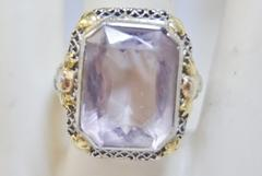 Amethyst ring from Edwardian Era