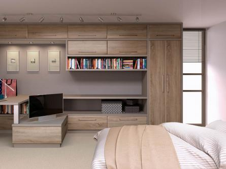 Rich Bedrooms Fitted Bedroom Furniture Wardrobe Bedroom - Fitted bedroom furniture