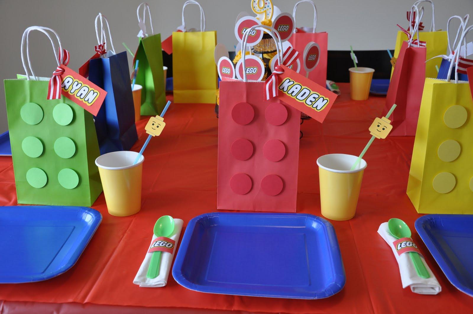 Basic Lego Birthdays