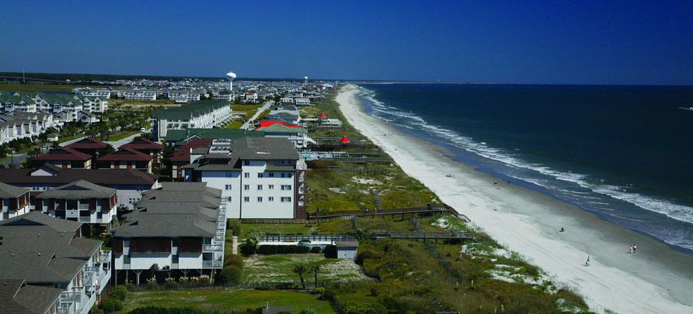 CBS Ocean Isle Beach: Roofing, Insulation, Lumber, Drywall