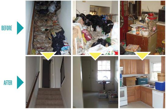 HOARDING CLEANING SERVICES FROM MGM Household Services