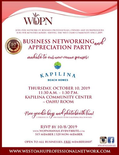WOPN Business Networking Mixer