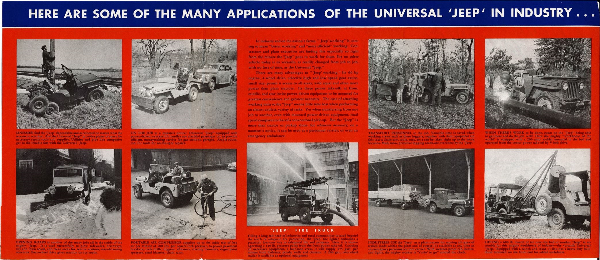 The Universal Jeep in Industry