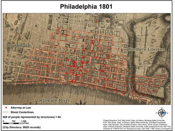 Sample Maps - Historic philadelphia map