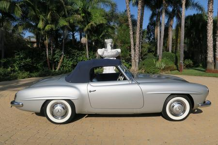 1955 Mercedes-Benz 190SL 2 Door Convertible for sale at Motor Car Company in San Diego California