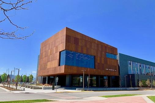 MSU Engineering Norm Asbjornson Hall Weathering Steel Facade by Dissimilar Metal Design