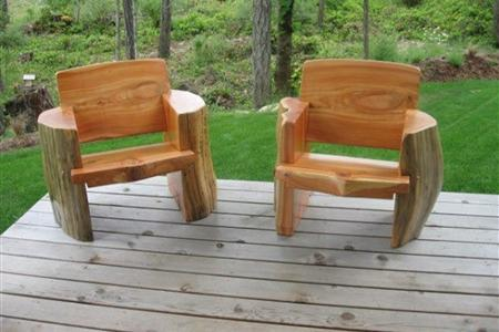 Outdoor Furniture Deep Forest Log Furniture Other