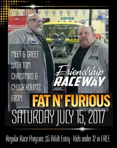 Meet & Greet with Tom Christmas & Chuck Kountz from Fat n Furious