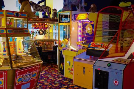 Arcade Game Room In Home