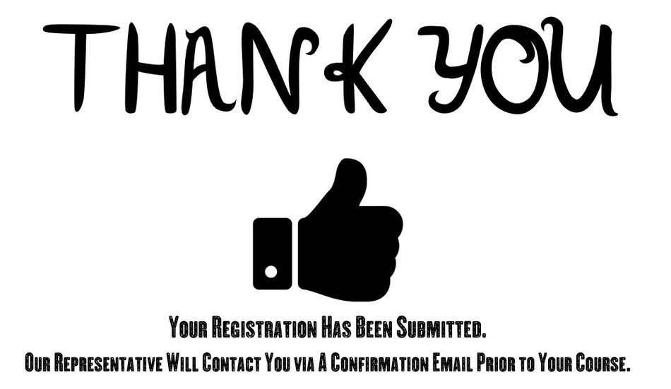 Registration-Thank You!