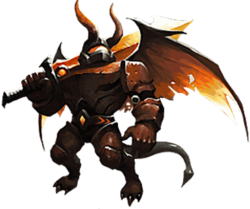 Abyss Demon Clash of lords 2 best heroes