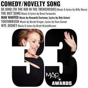 33 Annual MAC Awards Comedy/Novelty Song 2019