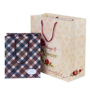 gift paper bag for perfume