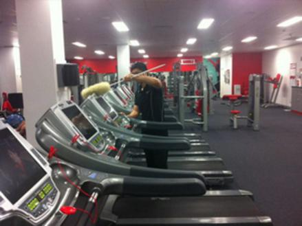 Fitness Centre Cleaning Service in Edinburg Mission McAllen TX | RGV Janitorial Services