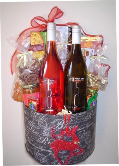 Wine gift baskets candice till kelowna bc thank you gifts wedding baskets gluten free options negle Gallery