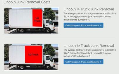 How much junk removal cost in Las Vegas NV? Junk removal prices
