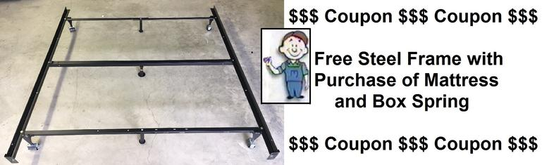free steel bed frame