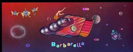 BARBARELLA in Cinemascope by CLIFF CARSON