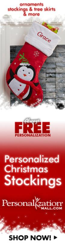Great prices on Customized Christmas Stockings