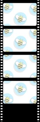 Bumblebee Booths Photo Strip sample #3