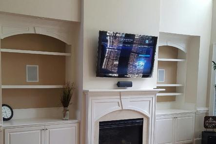 Professional Flat Screen Tv Wall Mounting Home Theater Service In