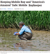 "Keeping Mobile Bay and ""America's Amazon"" Safe: Mobile Baykeepers"