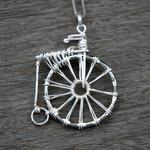 Penny Farthing Pendant