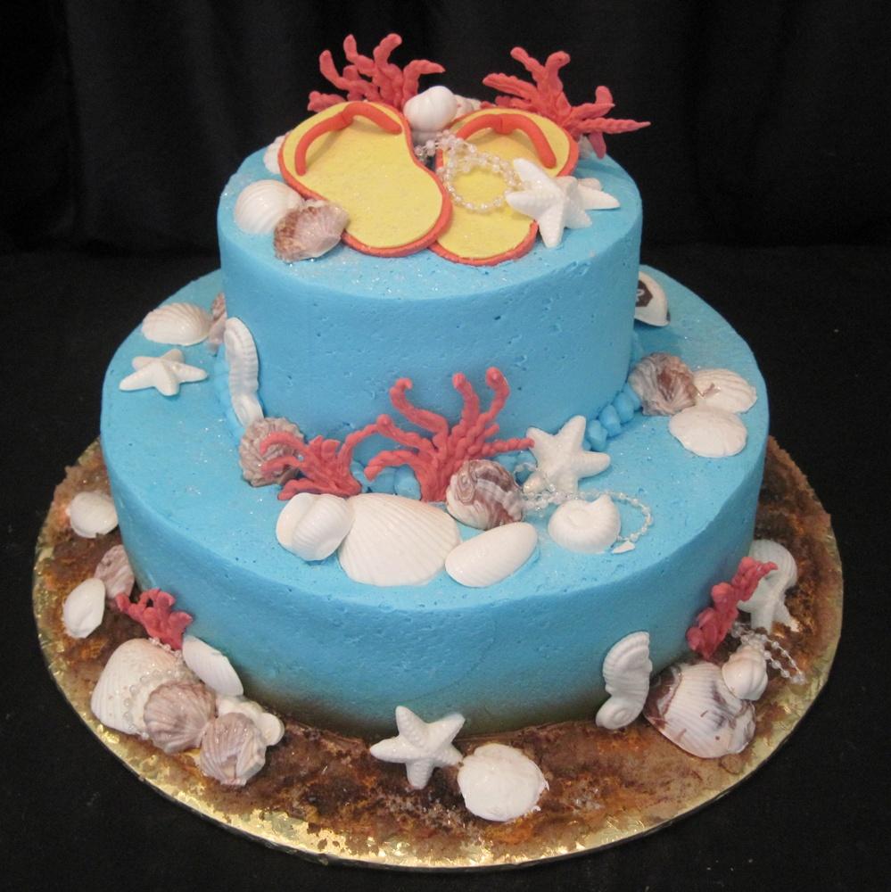 2 Tier Birthday Cakes