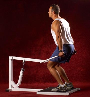 fluid resistance machines lift task squat