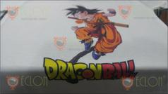Remera sublimada Dragon Ball niños