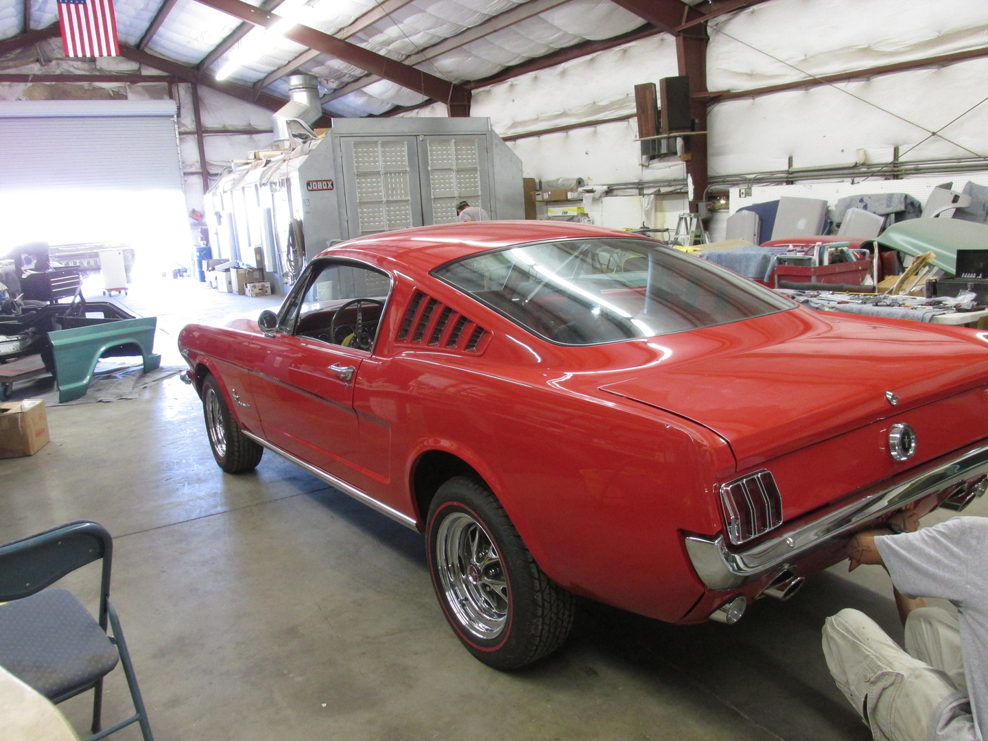Pat 645 Mustang 1964 Ford Fastback 1 2