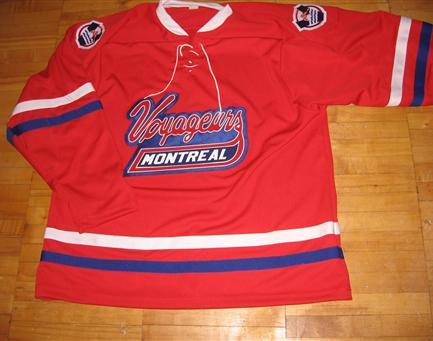 montreal voyageurs vintage hockey jersey