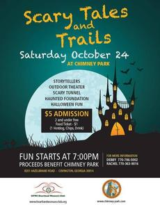 Scary Tales & Trails 2015