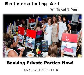 Fun Things To Do, Paint and Sip Houston, Cypress, Spring, The Woodlands, We Travel To You