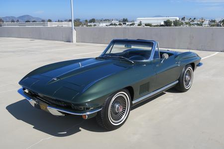 1967 Chevrolet Corvette 2 Door Convertible for sale at Motor Car Company in San Diego California