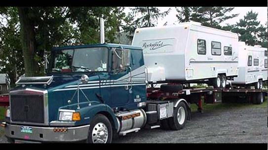TRAVEL TRAILER TOWING SERVICE