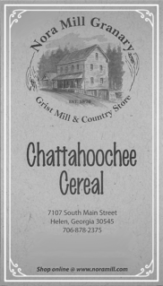 Nora Mill Chattachoochee Cereal Recipe