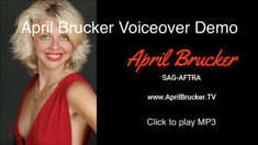 April Brucker Voiceover Demo MP3