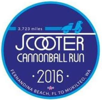 2016 Scooter Cannonball Run
