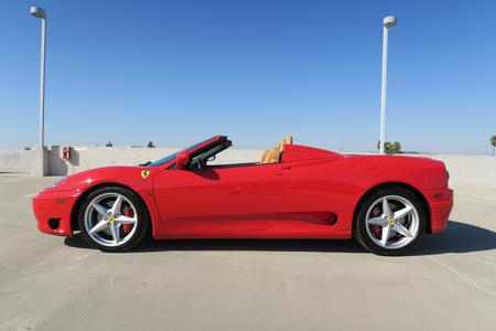 2005 Ferrari 360 Spider F1 for sale at Motor Car Company in San Diego California