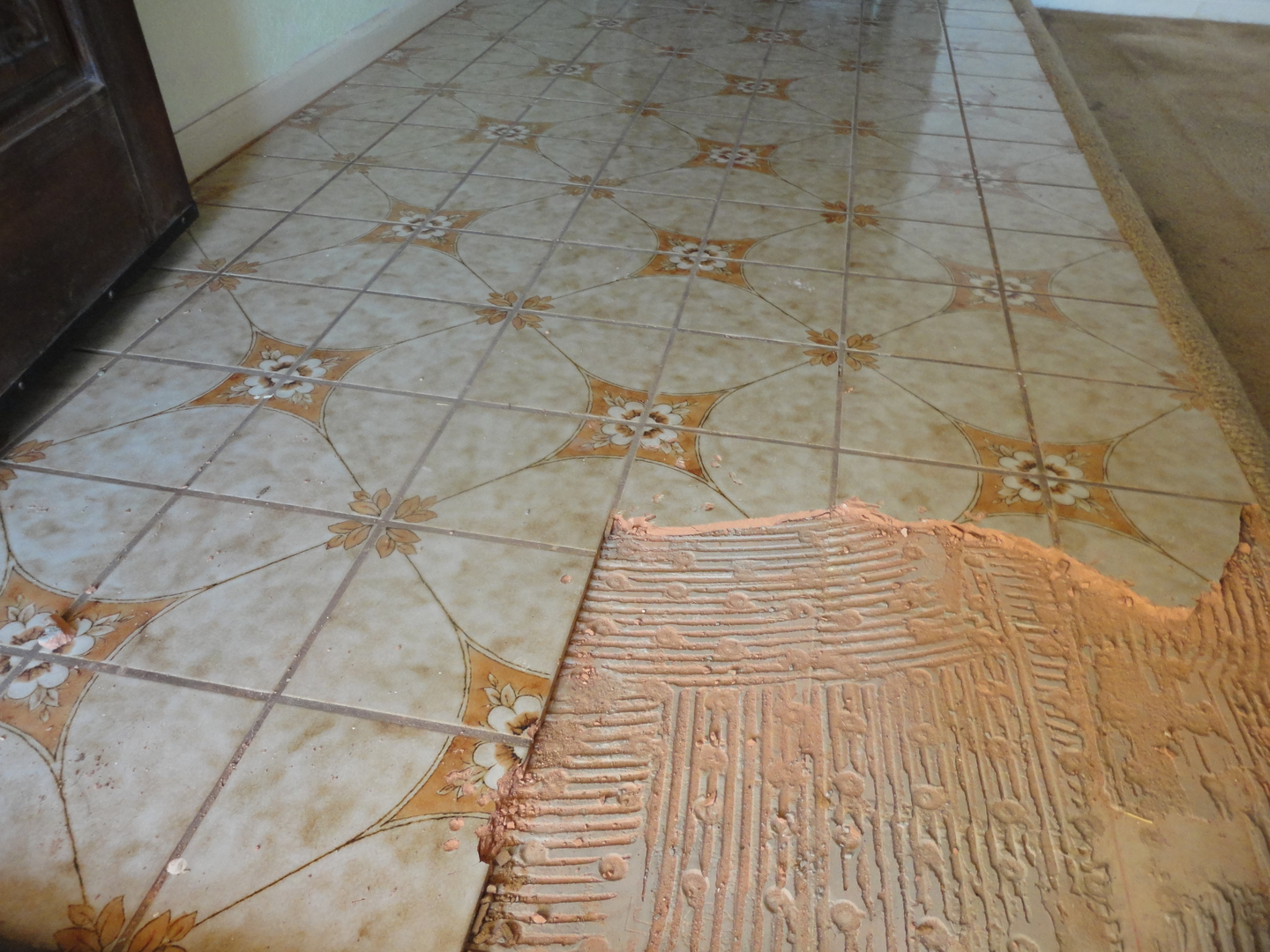 Saltillo tile removal dailygadgetfo Image collections