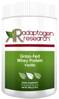 Adaptogen Research, Grass-Fed Whey Protein