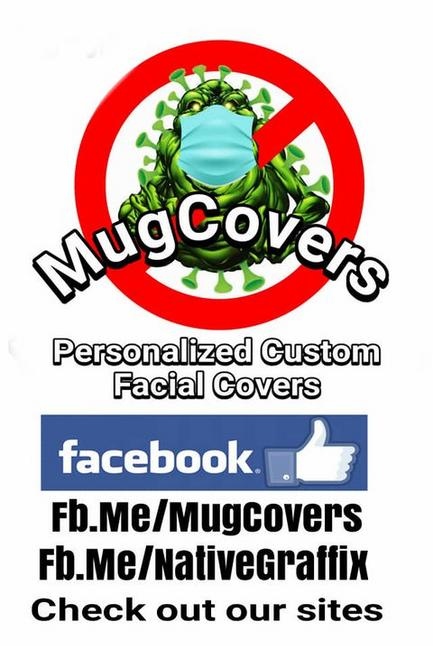 Facial Covers Available and items for SALE