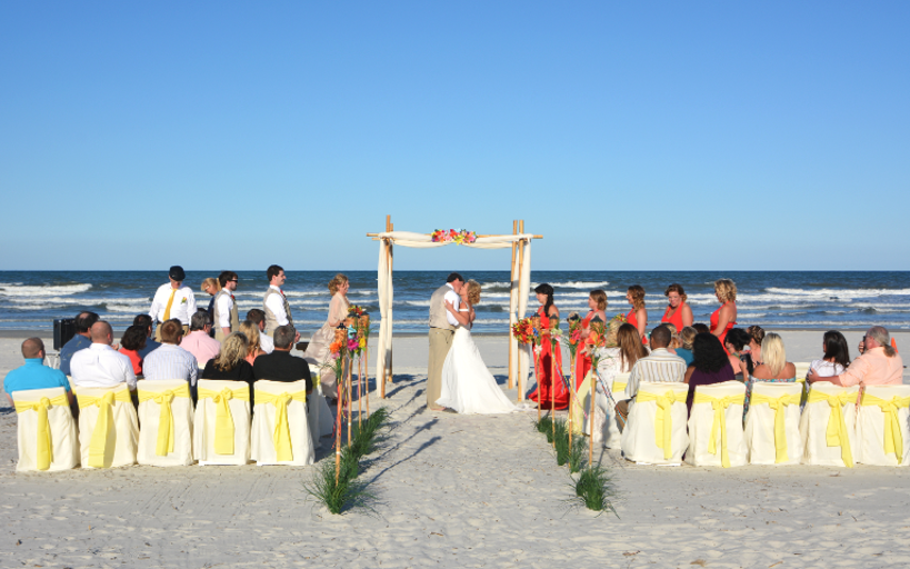 Complete Beach Weddings - St. Augustine Beach Wedding