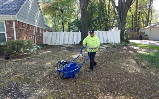 Germantown Lawn Aeration