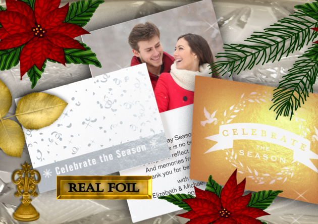 christmas, holiday, greeting+cards, gold+foil, silver+foil, christmas+cards, holiday+cards, photo+cards, photo+greetings