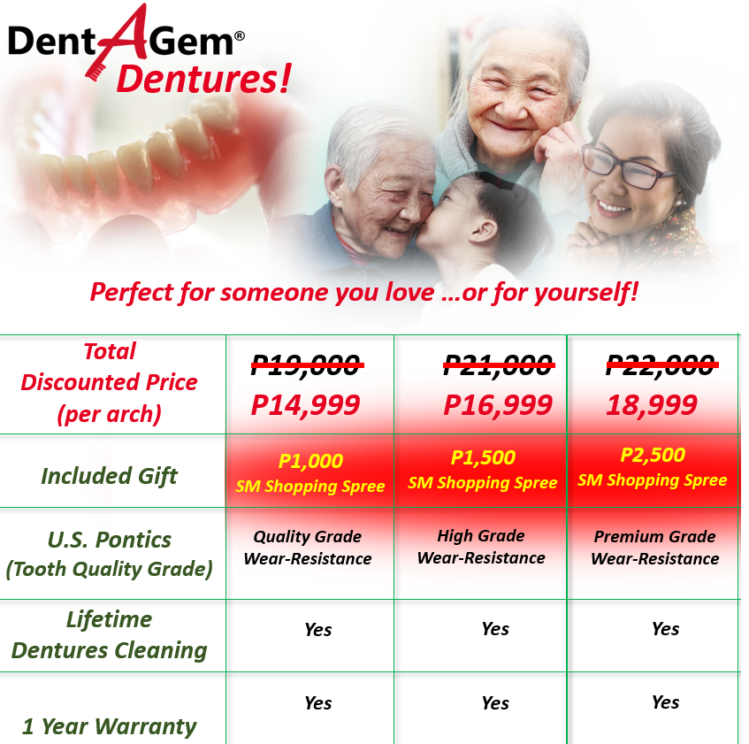 Family Dental Packages!